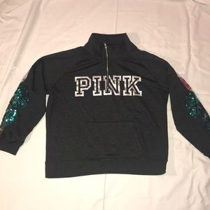BRAND NEW!!! Pink 3/4 zip